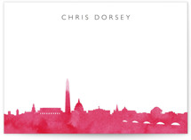 Skyline DC stationery by Laura Condouris