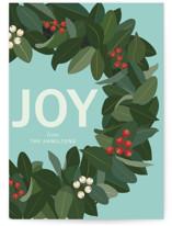 Joy Holiday Wreath by Faiths Designs