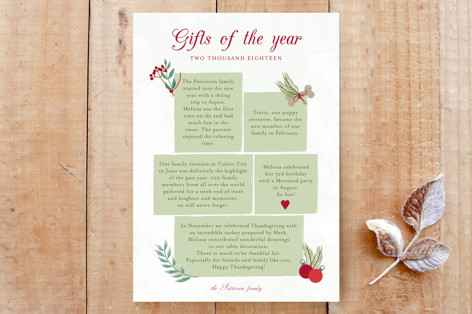 Christmas story Custom Stationery