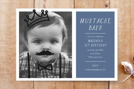A Mustache Bash Custom Stationery