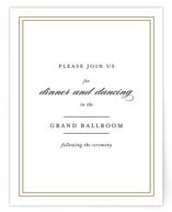 Eloquence Mitzvah Reception Cards