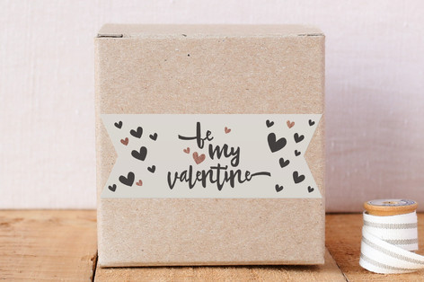Be my valentine (flag) Stickers