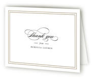 Eloquence Mitzvah Thank You Cards