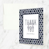 Mitzvah Thank You Cards