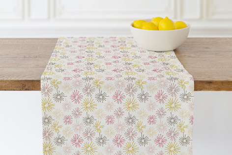 dandelion fluff Self Launch Table runners