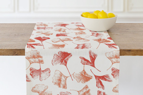 Gingko Floral Self Launch Table runners