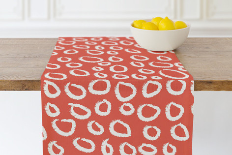 Circle Circle Self Launch Table runners