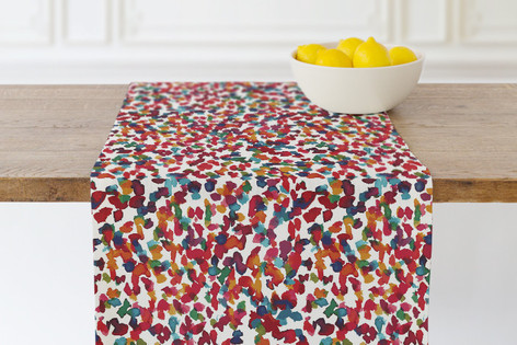 Colorful marks II Self Launch Table runners