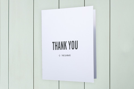 Zipcode Moving Announcements Thank You Cards