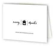 Home Front Moving Announcements Thank You Cards
