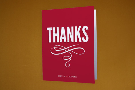 Our New Post Moving Announcements Thank You Cards