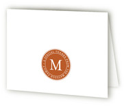 Stamped Moving Announcements Thank You Cards