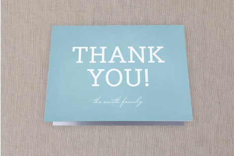 Iconic House Moving Announcements Thank You Cards