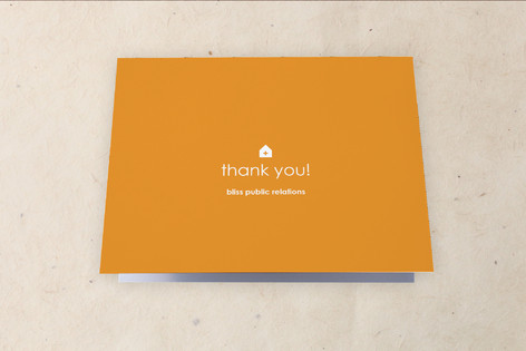Big Space - Bigger Ideas Moving Announcements Thank You Cards