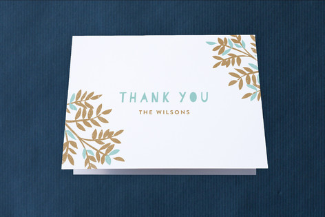 Bigger And Bigger Moving Announcements Thank You Cards