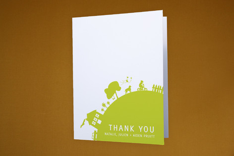 Moving Full Circle Moving Announcements Thank You Cards