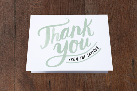 Scripted New Home Moving Announcements Thank You Cards