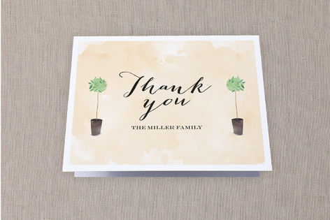 Welcoming Door Moving Announcements Thank You Cards