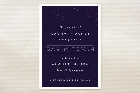 Mitzvah Mitzvah Invitations