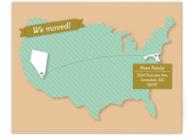 Graphic Country Move Moving Announcements