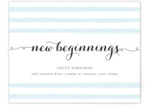 New Beginnings Moving Announcements