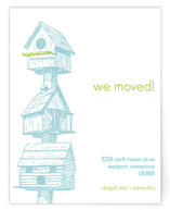 Birdhouses Moving Announcements