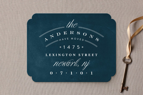 Address Logo Moving Announcements