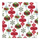 Plaid Holiday Ornament... by Angela Rekucki