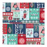 Holiday Quilt Wrap by Angela Rekucki