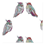 humming love birds by katrina berg