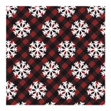 Buffalo Plaid Snowflake... by Lisa Travis