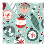 Happy Holiday Ornaments by Pace Creative Design Studio