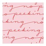 Hey, No Peeking by Jenny Batt