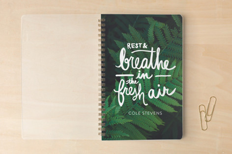 Rest and Breathe in the Fresh Air Notebooks