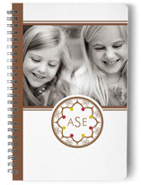 Intricate Monogram Journals