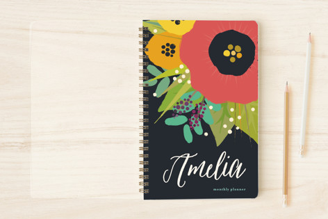Bold Floral Notebooks