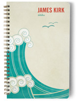 BLOCK PRINT WAVES Journals