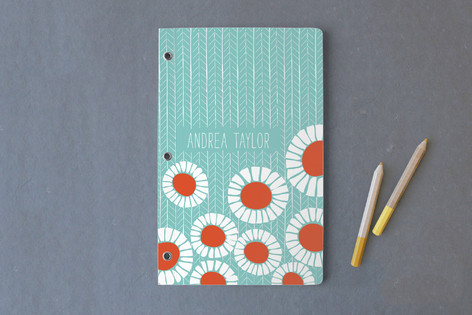 Pretty Poppies Journals
