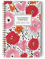 Floral Mix Journals