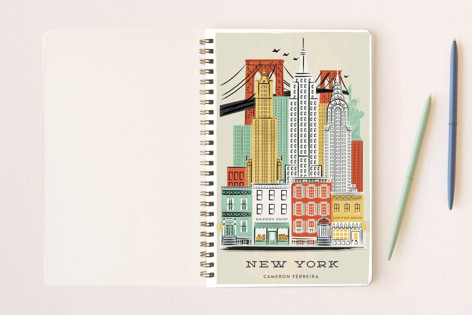 New York, New York Notebooks