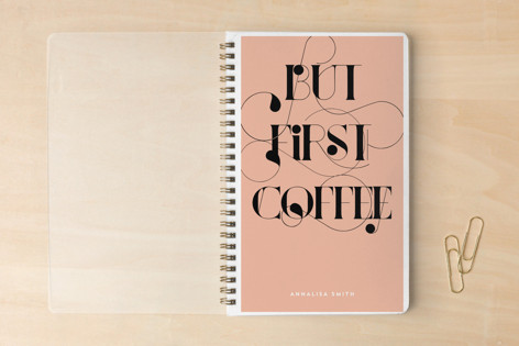 But First, Coffee Notebooks