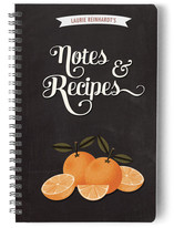 Orange Recipes Journals