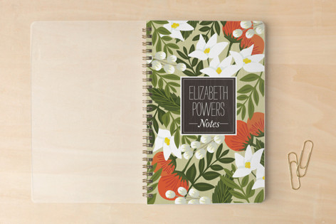Blossoming Rainforest Notebooks