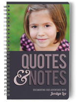 Quotes &amp; Notes Journals