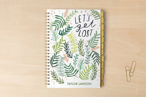 Lets Get Lost In Plants Notebooks