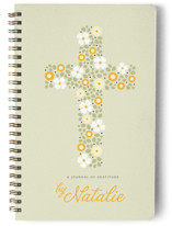 Floral Cross Journals