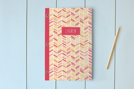 Fun Chevron Journals