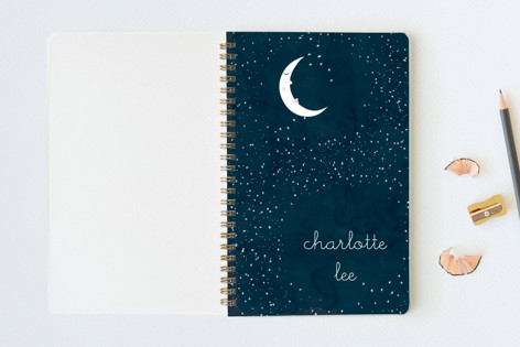 Starry Moon Notebooks