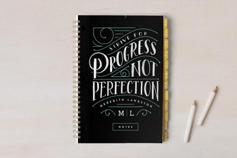 Strive for Progress Notebooks
