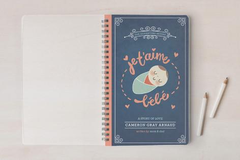 Je T'aime Bebe Notebooks